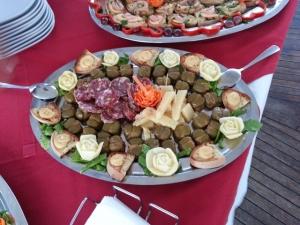 crostini di mare e olive